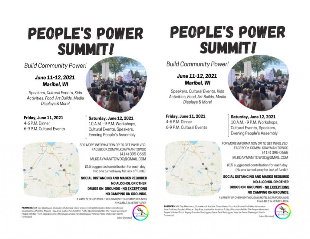 People's Power Summit Half Sheet