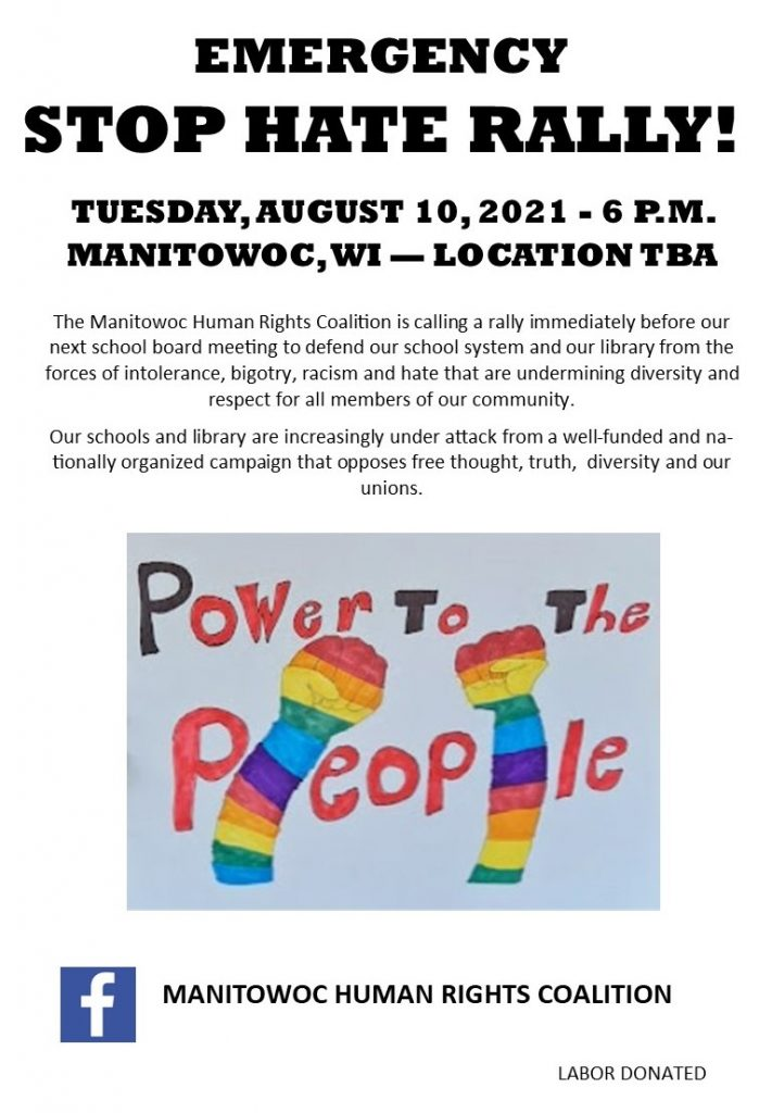 Aug10 Stop Hate Rally Flyer